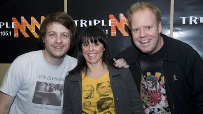 Richard Marsland, Myf Warhurst and Peter Helliar on Triple M