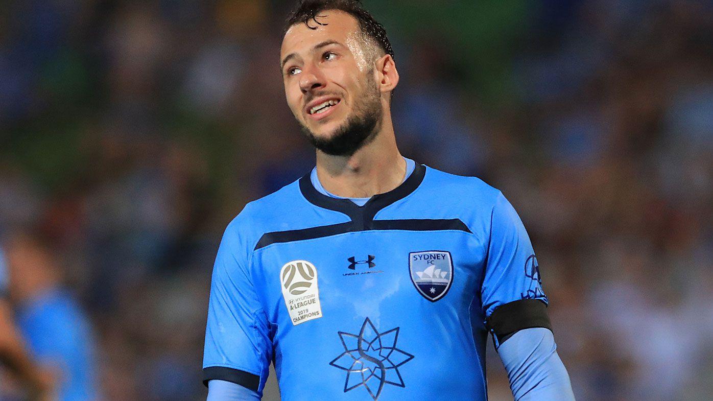 Adam Le Fondre of Sydney FC