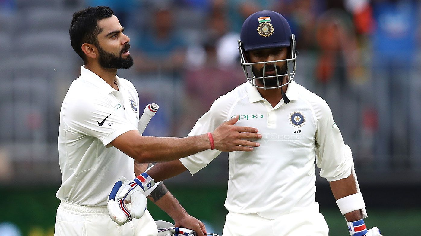 Virat Kohli stamps authority on series with unbeaten half-century as India launches sterling counter-attack