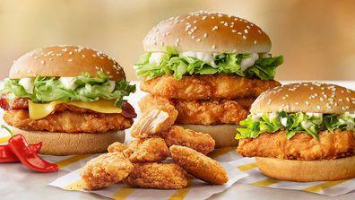 McDonald's launches new McSpicy chicken range