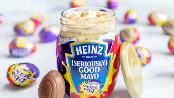 Creme egg mayonnaise is a thing
