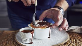 Lamington soufflé recipe