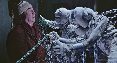 Michael Caine stars in The Muppet Christmas Carol.