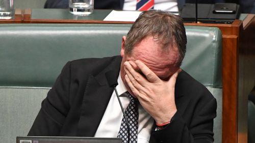 Mr Joyce during Question Time last week. (AAP)