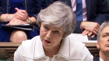 Theresa May makes a last-ditch appeal to MPs to pass the Brexit deal tomorrow, though her hopes look doomed.