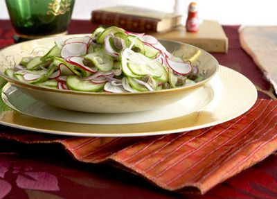 "<a href=""http://kitchen.nine.com.au/2016/05/19/19/53/cucumber-and-caper-salad"" target=""_top"">Cucumber and caper salad</a>"