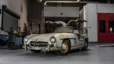 Million-dollar car hiding in barn