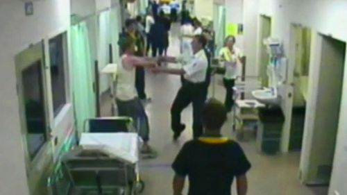 Dr Wong said violent outbursts in hospitals have become a part of daily life for health professionals.