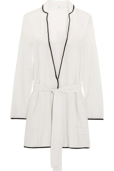 "<a href=""https://www.net-a-porter.com/au/en/product/637608/Equipment/elya-cashmere-robe"" target=""_blank"">Cashmere robe, $768, Equipment from net-a-porter.com</a>"