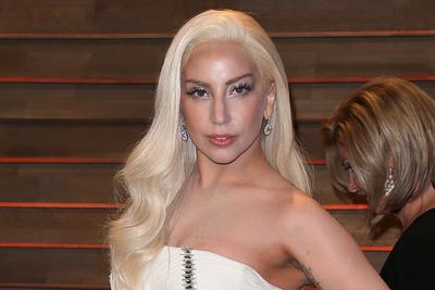 Channelling Donatella Versace, Gaga surprised everyone at the 2014 Oscars with her classic Hollywood makeover.