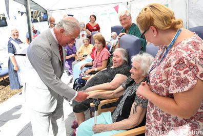 In 2018, The Prince of Wales marked the 70th anniversary of the NHS during a visit to Ysbyty Aneurin Bevan hospital in Wales.