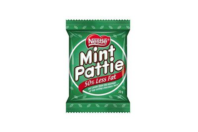 Mint Pattie: Over 3.5 teaspoons of sugar