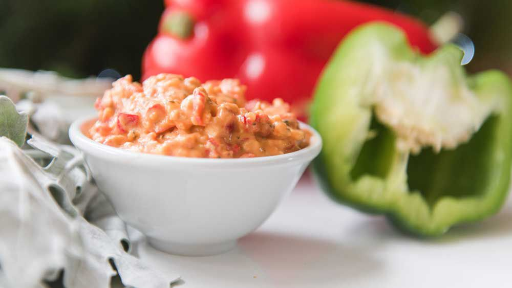 Be Fit Food's homemade roasted capsicum dip