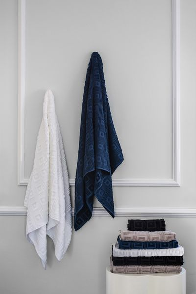 """Towels from $34.95, Greg Natale Home, <a href=""""http://www.myer.com.au/"""" target=""""_blank"""">Myer</a><br />"""