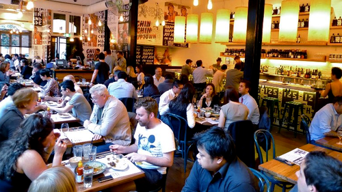 Melbourne is well known as a destination for delicious meals out. (File)