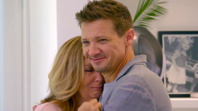 Jeremy Renner appears on Celebrity IOU to give back to his mum.