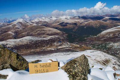 <strong>5. Soul food on Mt Bierstadt &ndash; Colorado, USA</strong>