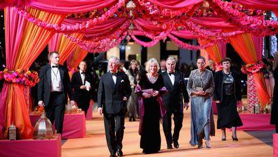 Prince Charles Camilla Duchess of Cornwall Royal movie premiere 3