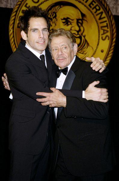 Jerry Stiller and Ben Stiller