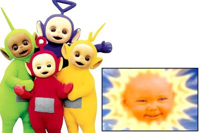 The Teletubbies themselves are a pretty disturbing lot — all that baby-talk and furriness and doe-eyes that must be concealing murderous thoughts. The creepiest thing about this wildly popular series, though, was the baby's face in the sun that hung over the Teletubbies' suspiciously perfect paradise. There's something so wrong about that...