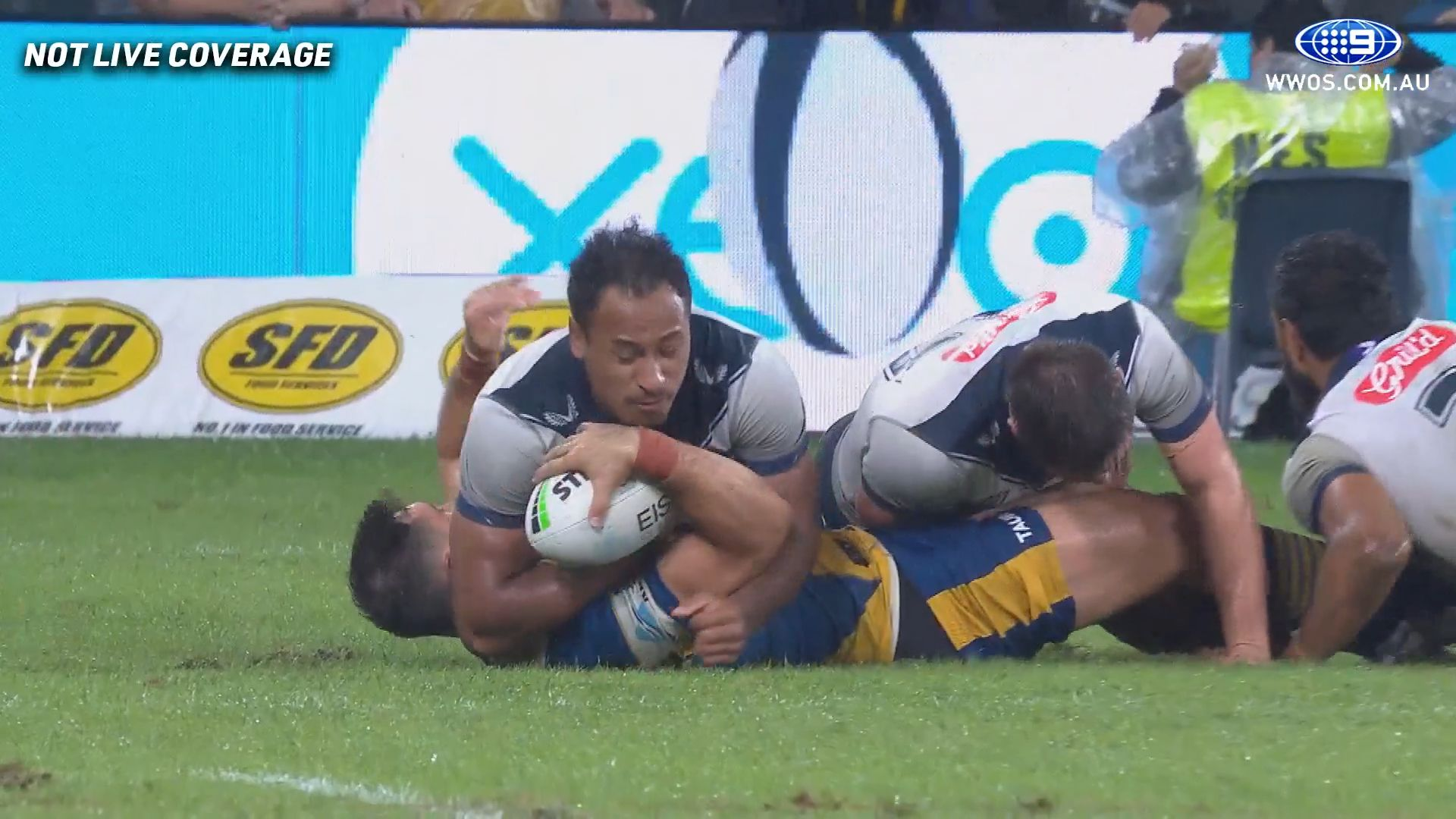 Felise Kaufusi cops charge, faces two week ban for tackle on Ryan Kaufusi