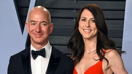Jeff Bezos and his wife, MacKenzie – the richest couple in the world – are getting a divorce after 25 years of marriage.
