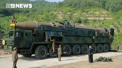 If confirmed, the test would be the first inter-continental ballistic missile launched by North Korea. (Supplied)