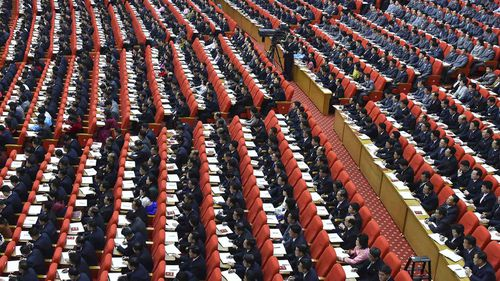 A ruling party congress is held in Pyongyang, North Korea.