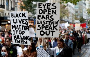 Live news updates: Sydney Black Lives Matter protests ruled illegal by Supreme Court; Scott Morrison warns against marching over COVID fears; George Floyd memorial held in Minneapolis