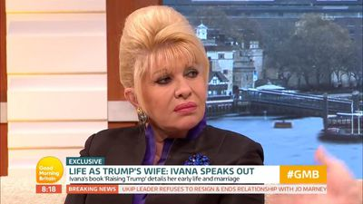 Ivana Trump says Donald 'definitely not racist'
