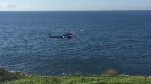 Body found in search for missing Sydney rock fisherman