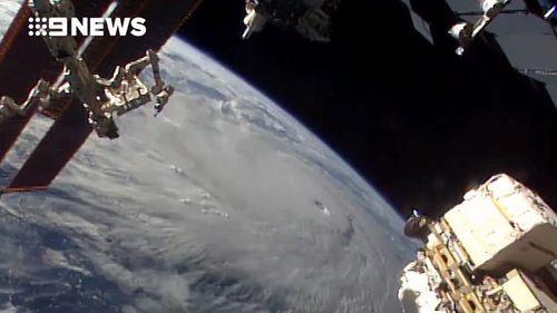 The hurricane is expected to make landfall tomorrow.