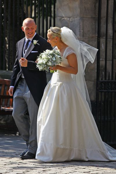 Zara Phillips and Mike Tindall, July 30 2011