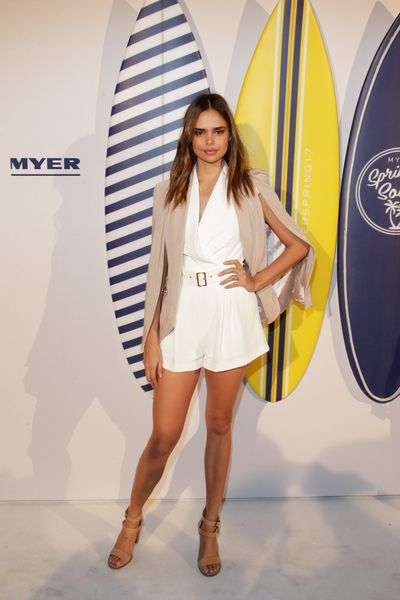 Samantha Harris in Sheike at the Myer Spring Social 2017