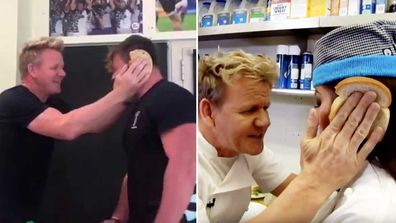 Gordon Ramsay idiot sandwich meme recreated with Harlequins rugby team