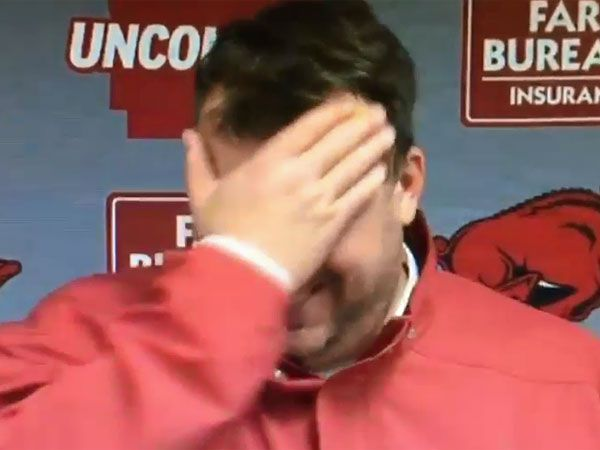 Coach endures embarrassing slip of the tongue