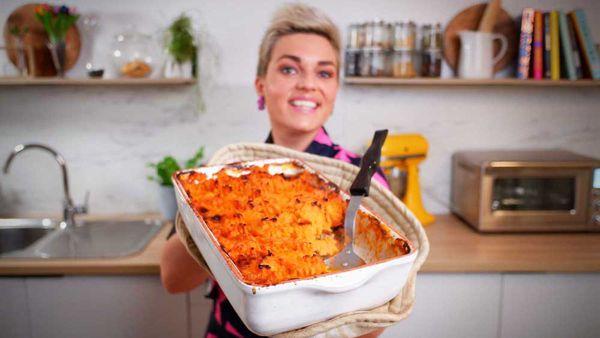 Jane de Graaff's sweet potato topped shepherd's pie