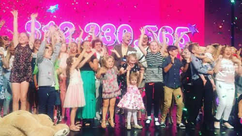 The Channel 9 Telethon raised more than $12 million.