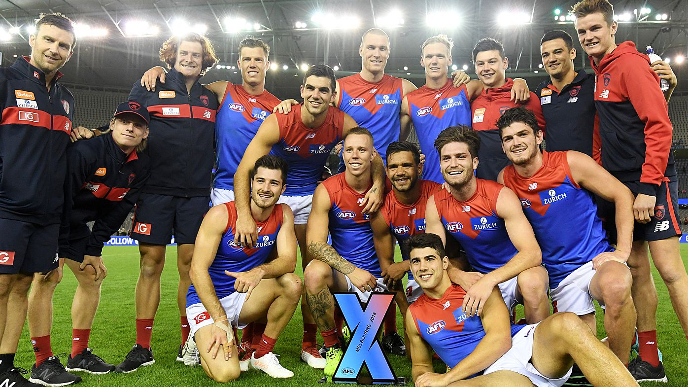 Melbourne Demons beat Hawthorn Hawks in AFLX grand final