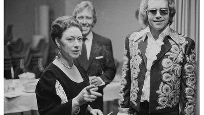 Princess Margaret partied with Elton John.
