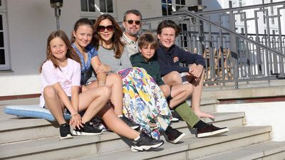Danish royals share sweet photos from family holiday