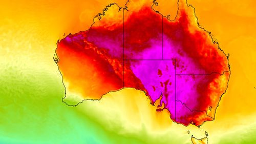 Southern Australia is in the midst of an extreme heatwave.