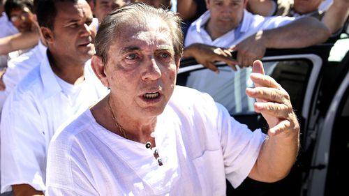 Spiritual healer Joao Teixeira de Faria, better known as John of God.