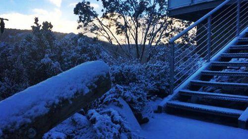 Snow has fallen at Victoria's Falls Creek. (Falls Creek Resort)