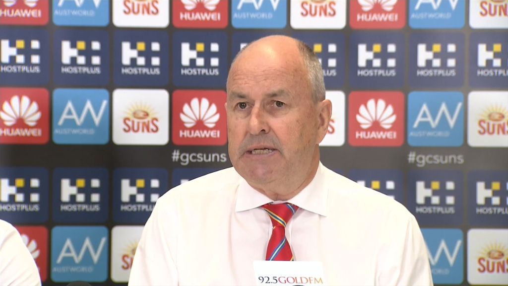 Gold Coast explain reasons behind sacking Eade