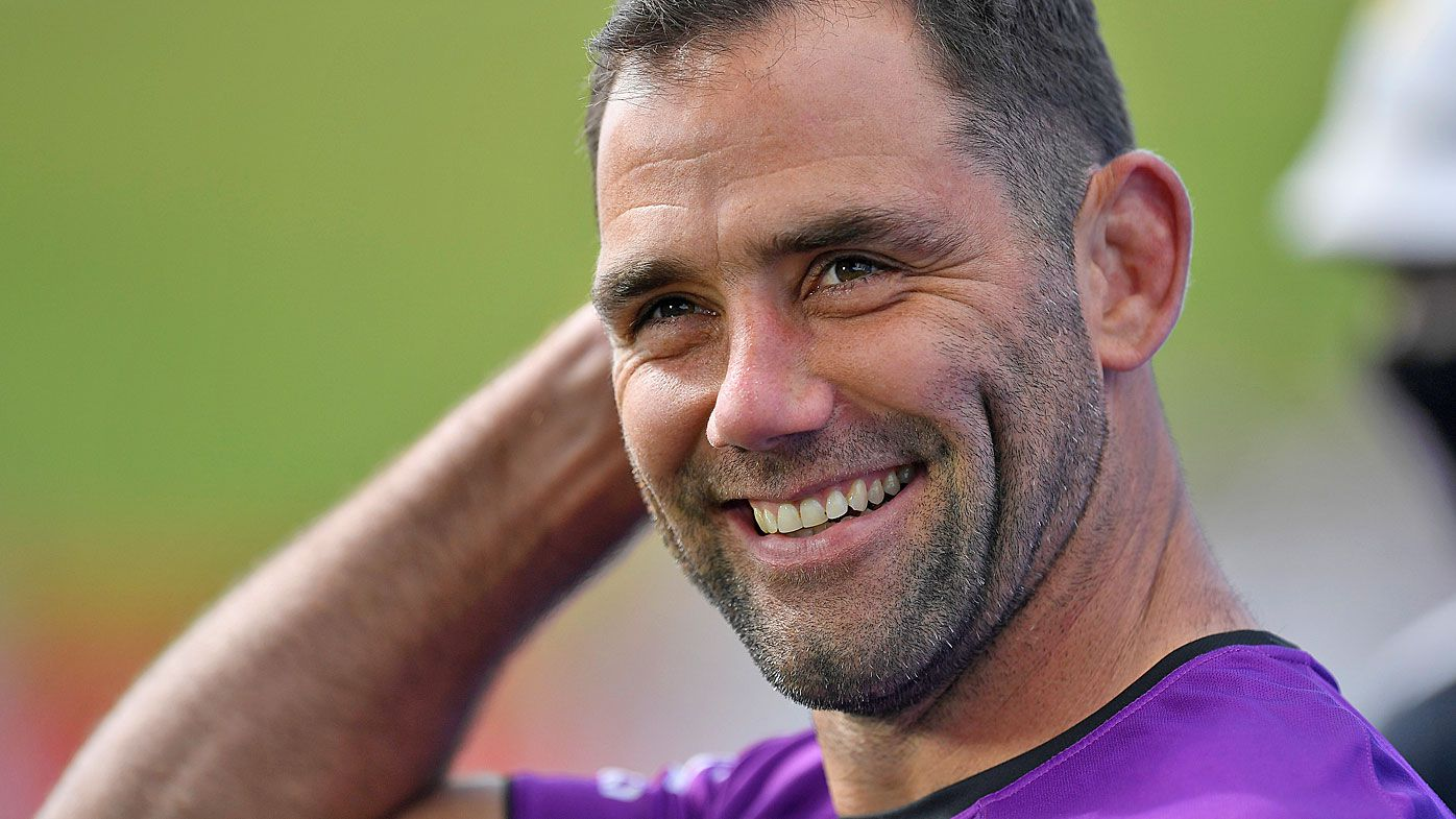 Melbourne Storm veteran Cameron Smith drops subtle hint on future move