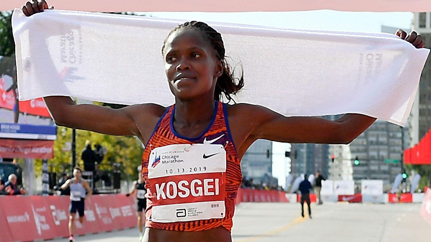 Brigid Kosgei shatters Paula Radcliffe's iconic women's marathon world record