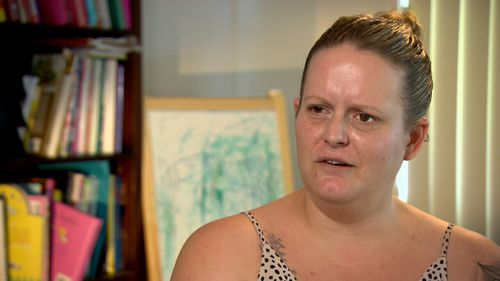 "Brisbane mum of four Samantha Humm said she was told her cosmetic surgeon had ""butchered"" her."
