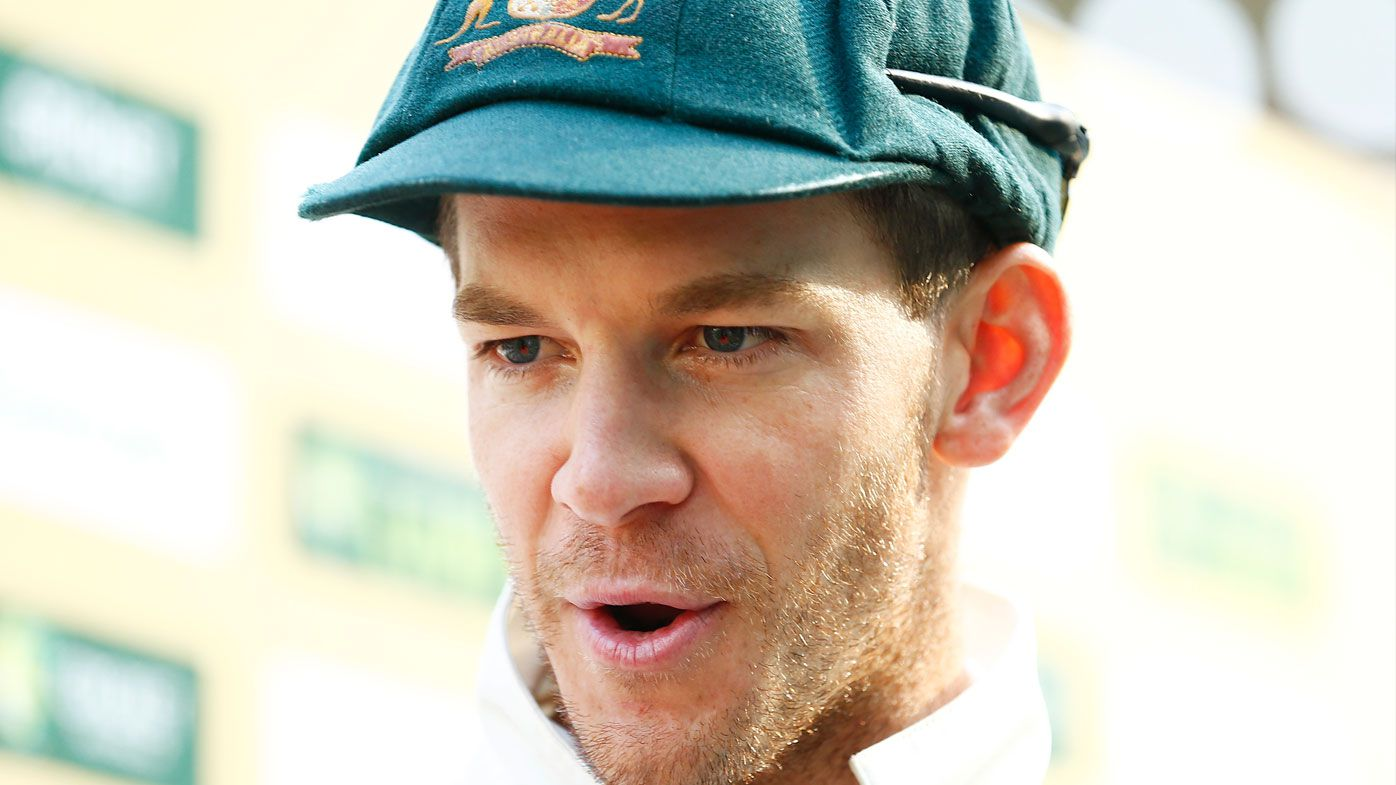 Tim Paine hits back at talk over his retirement. (Getty)