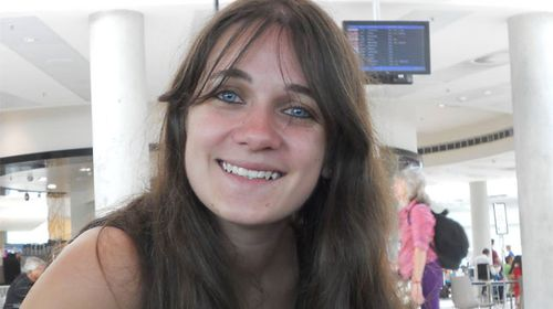 Murdered French student Sophie Collombet. (Facebook)